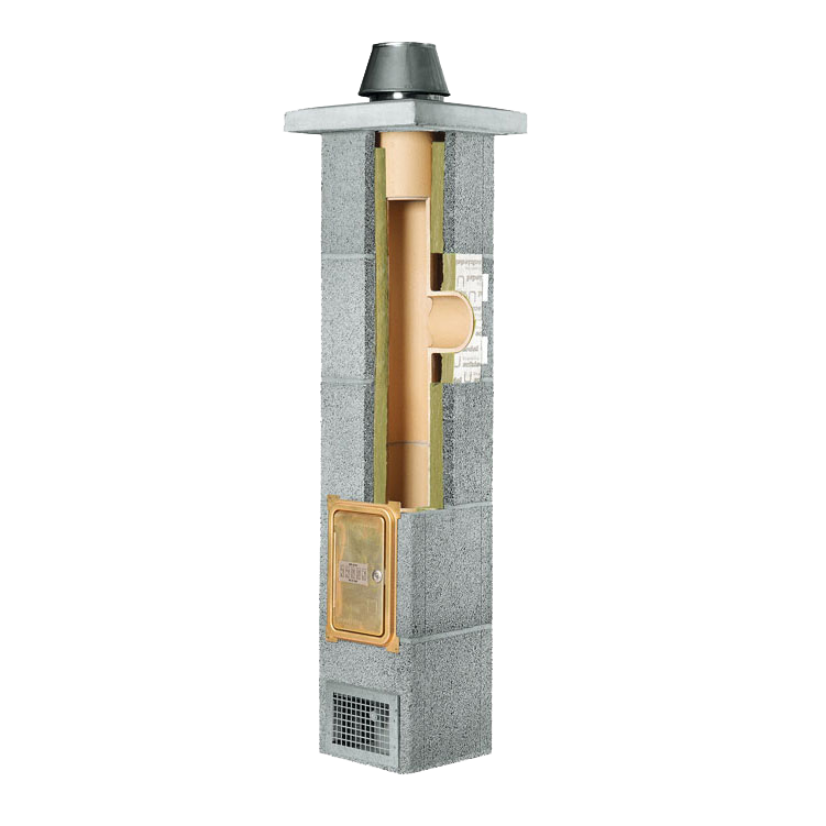 SCHIEDEL RONDO PLUS Ceramic chimney system