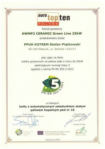 KWMP2 CERAMIC greenline
